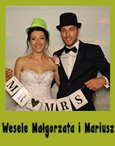 wesele Małgorzata i Mariusz